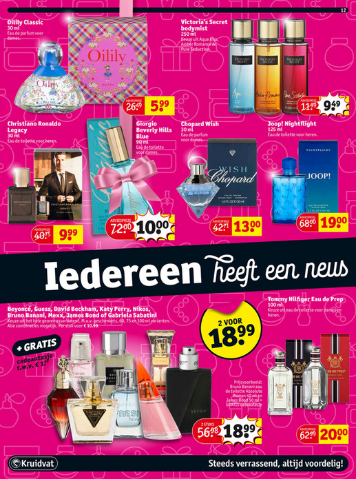 victoria secret body mist kruidvat