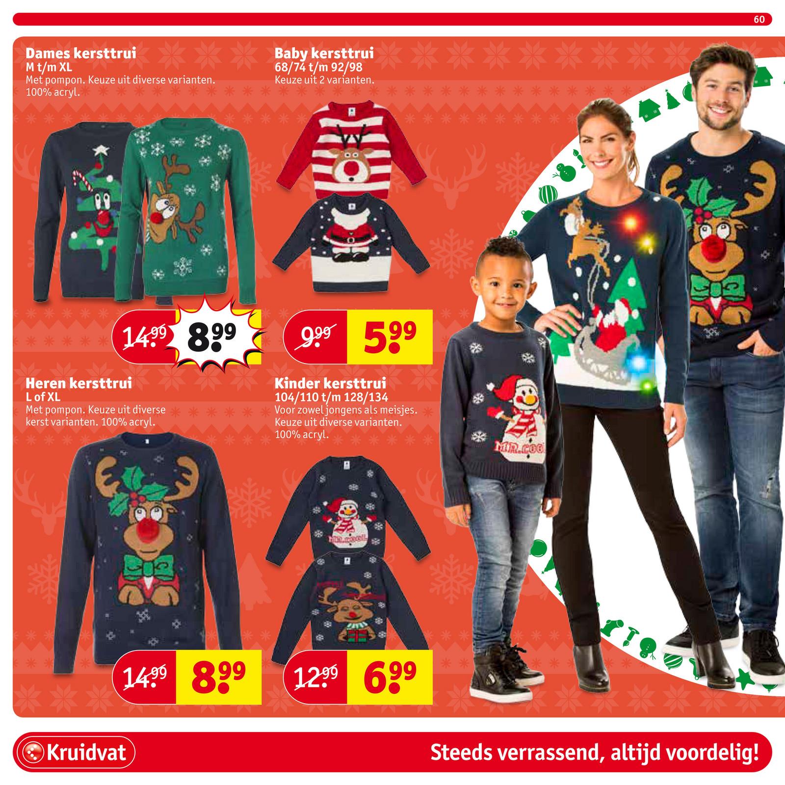 Kersttrui Xl.Kruidvat Nederland Kruidvat Folder Week 48 Cm Pagina 60 61