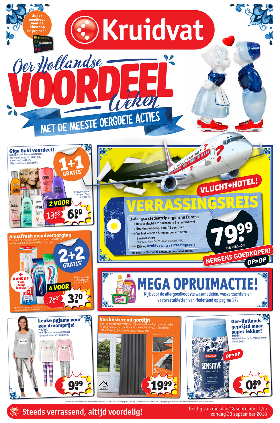 Kruidvat Nederland - Kruidvat folder week 38 18 september t/m 23 ...